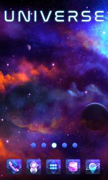 Universe GO Launcher poster