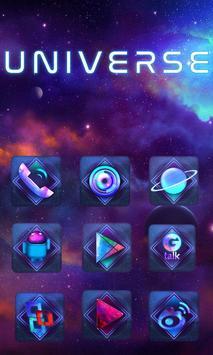 Beautiful Universe Launcher Theme apk screenshot