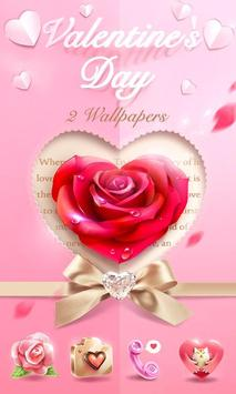 Valentine's DayGOLauncherTheme poster