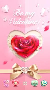 Valentine's DayGOLauncherTheme apk screenshot