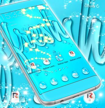 Water Drops Theme screenshot 4