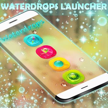 Waterdrops GO Launcher apk screenshot