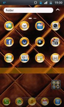 PureGold Theme for GO Launcher apk screenshot