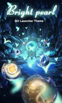 Bright Pearl GO Launcher Theme poster
