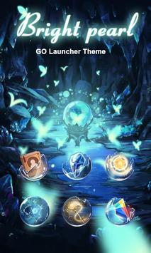 Bright Pearl GO Launcher Theme screenshot 1