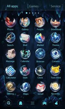 Bright Pearl GO Launcher Theme screenshot 4