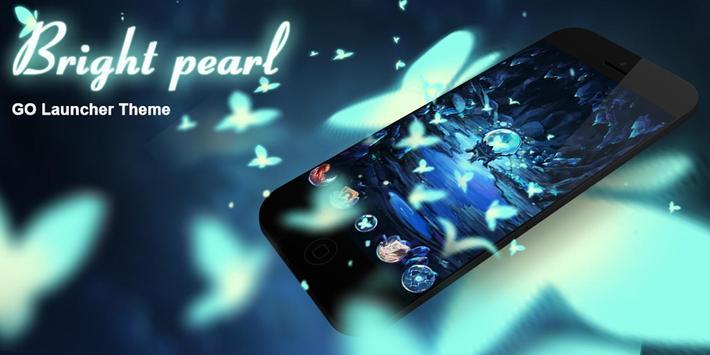 Bright Pearl GO Launcher Theme screenshot 5