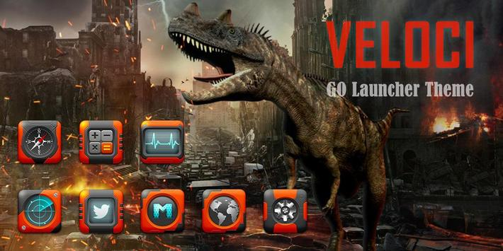 VELOCI GO Launcher Theme poster
