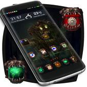 Scary Zombie Launcher Theme icon