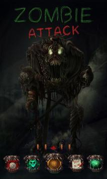 Zombie Attack GO Launcher poster