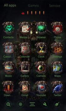 Zombie Attack GO Launcher apk screenshot