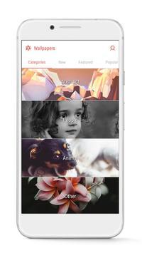 GO Launcher - 3D parallax Themes & HD Wallpapers apk screenshot