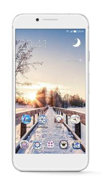 GO Launcher - 3D parallax Themes & HD Wallpapers poster