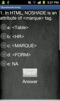 HTML JavaScript CSS XML apk screenshot