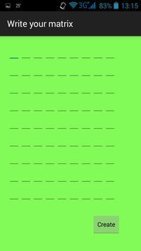 Gauss-Jordan Elimination apk screenshot
