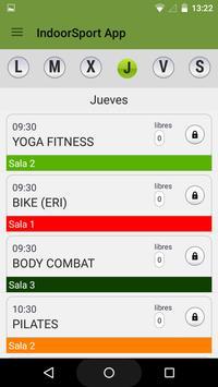 IndoorSport Estepona apk screenshot