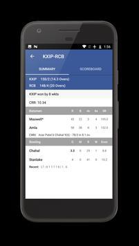 IPL Live 2017 Score screenshot 1