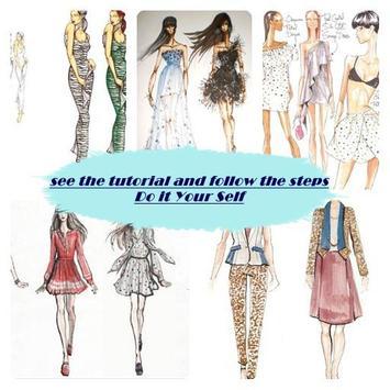 fashion drawing steps screenshot 8