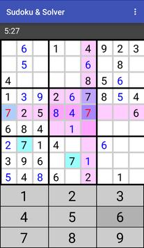 Sudoku & Solver apk screenshot