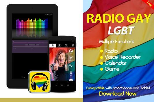 Gay Radio LGBT Radio Gay Music Gay FM Worldwide poster