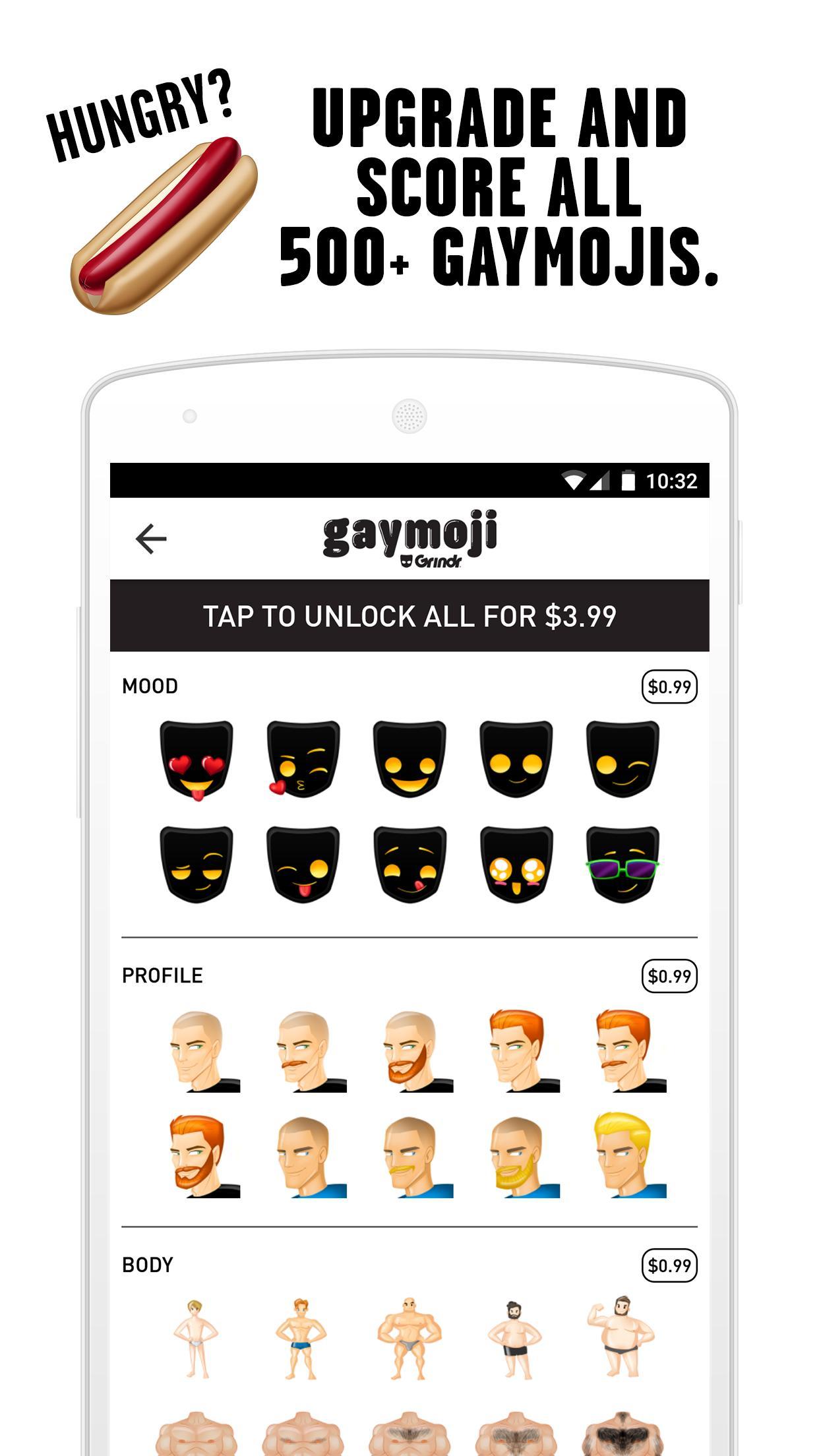 Meanings grindr gaymoji ghost emoji