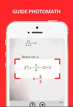 Photo Math is an app that solves almost any math problem. The app works by  taking a picture of the math problem. It scan the problem and lists it  below, ...
