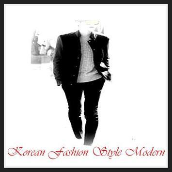 Korean Fashion Style Modern poster