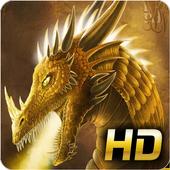 Gold Dragon Wallpaper APK