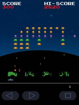 Invaders Of Galaxy (shooter) screenshot 2
