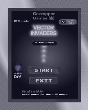 Vector Invaders - Space Shooter apk screenshot