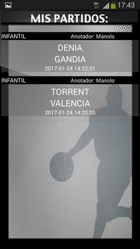 Gobasket (Marcador Online), puntuación en directo screenshot 4