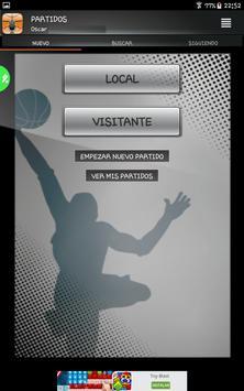 Gobasket (Marcador Online), puntuación en directo screenshot 5