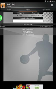 Gobasket (Marcador Online), puntuación en directo screenshot 6