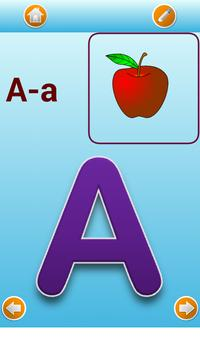 English alphabet screenshot 1
