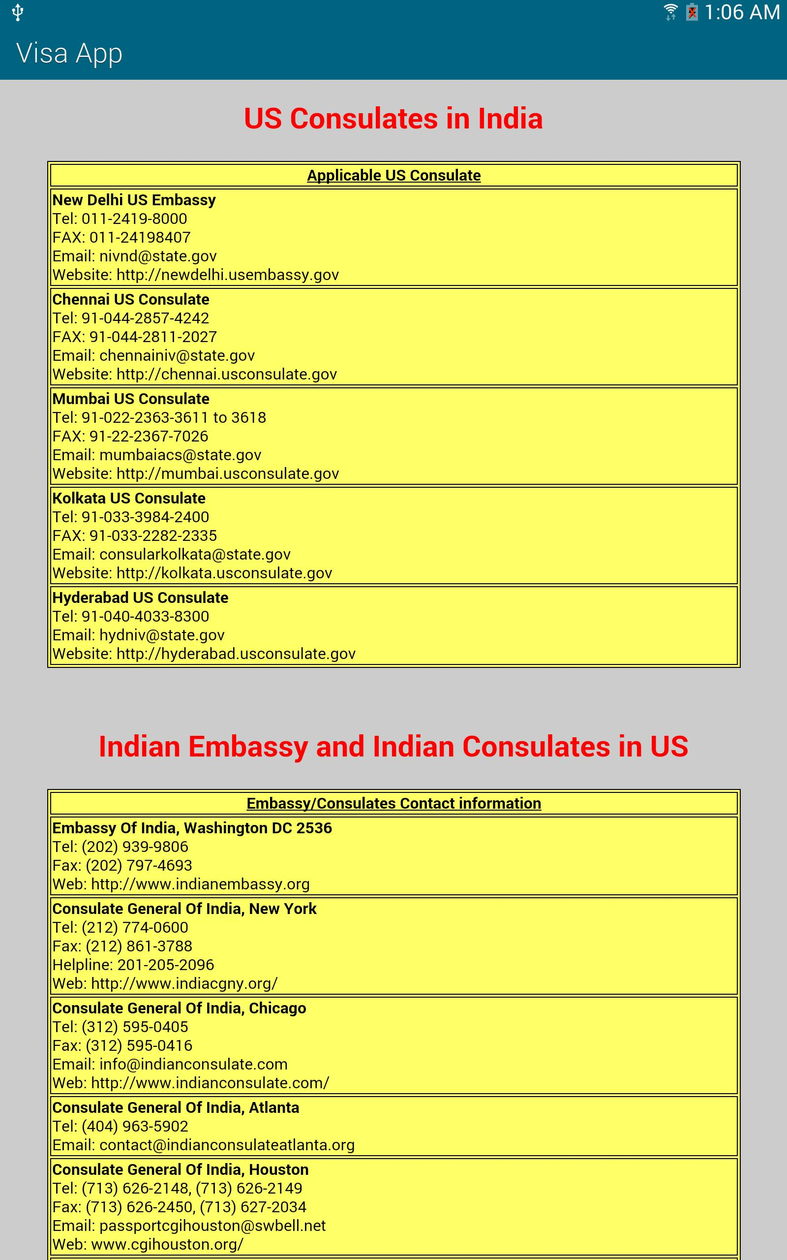 USA Visa Guide for Android - APK Download