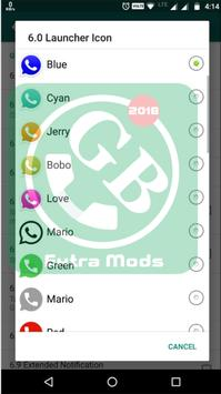 Gbwhats Version 2018 screenshot 1