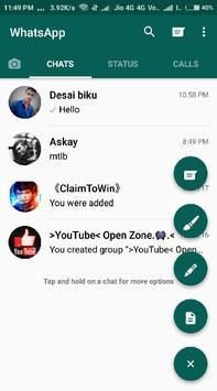 gbwhatsapp apk screenshot 1
