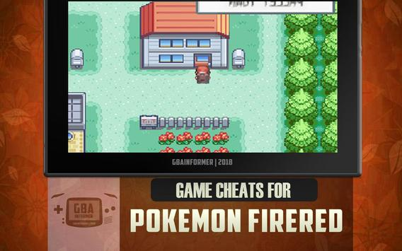 Cheats for Pokemon Fire Red poster