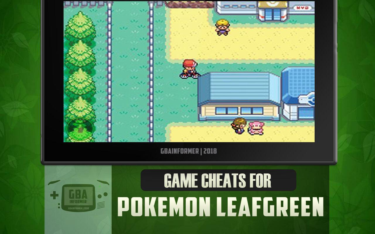 Cheats For Pokemon Leaf Green Version For Android Apk Download