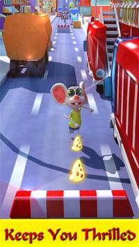 Cheese Run - City Quest 3D poster