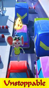 Cheese Run - City Quest 3D apk screenshot