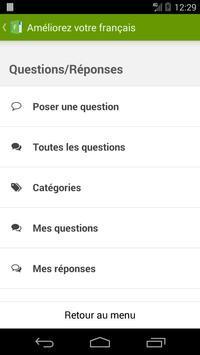 Améliorez votre français ! apk screenshot