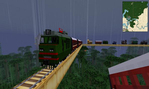 Mod Train for MCPE poster