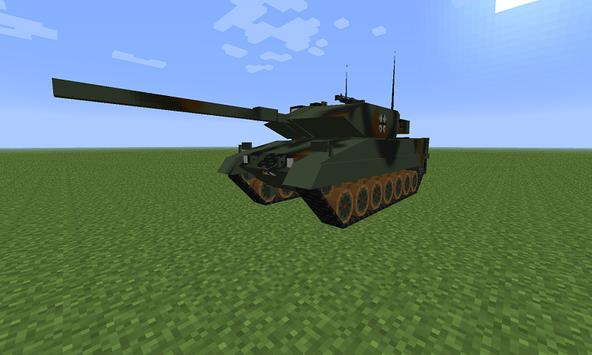 Mod War Tank for MCPE poster