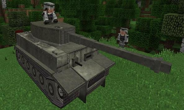 Mod War Tank for MCPE screenshot 1