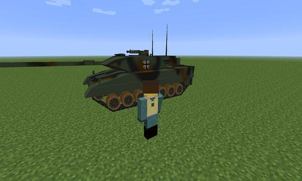 Mod War Tank for MCPE screenshot 2