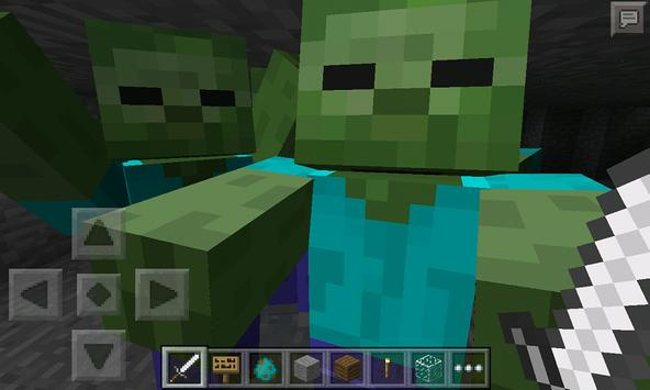 Mod Zombie Survival for MCPE screenshot 1