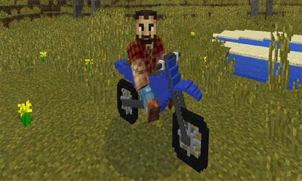 Mod Dirt Bikes for MCPE apk screenshot