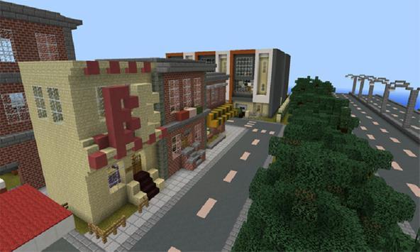 Mod Gigant City for MCPE apk screenshot
