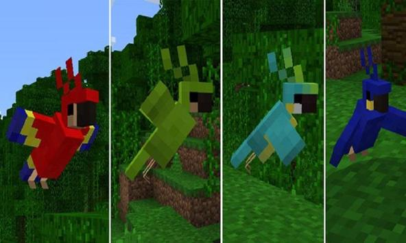 Mod Parrots for MCPE apk screenshot